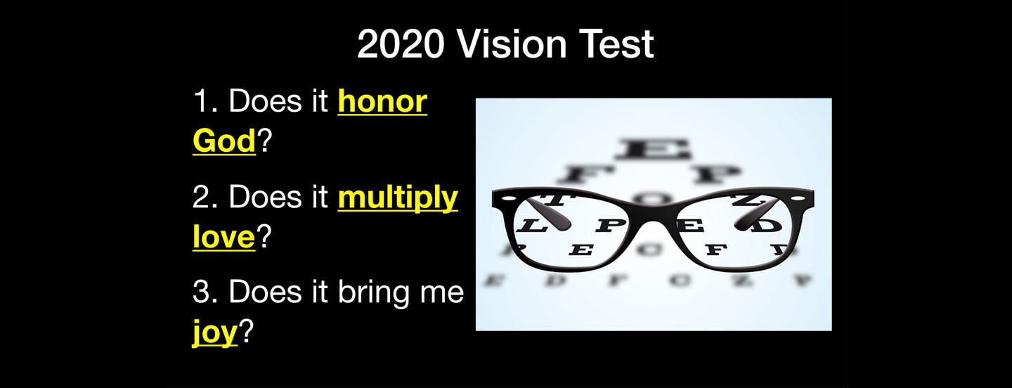 2020 Vision Text