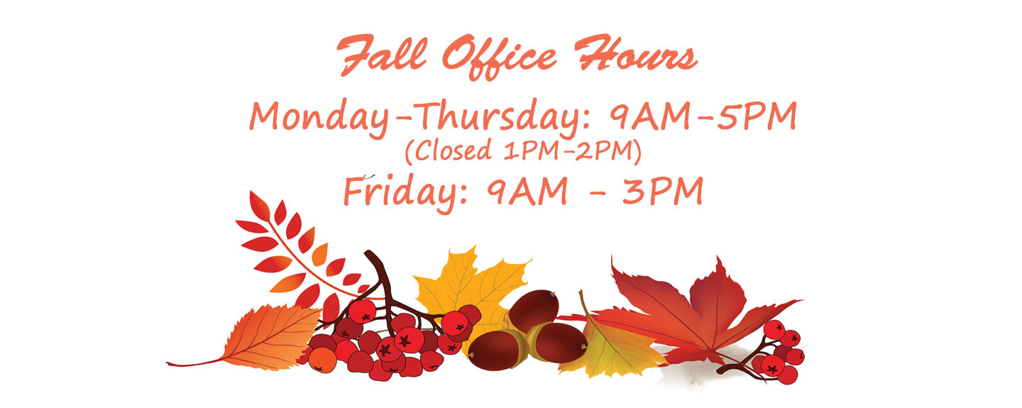 Fall Office Hours