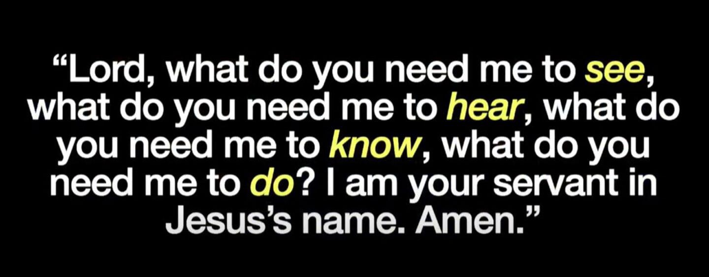 Prayer for 2021